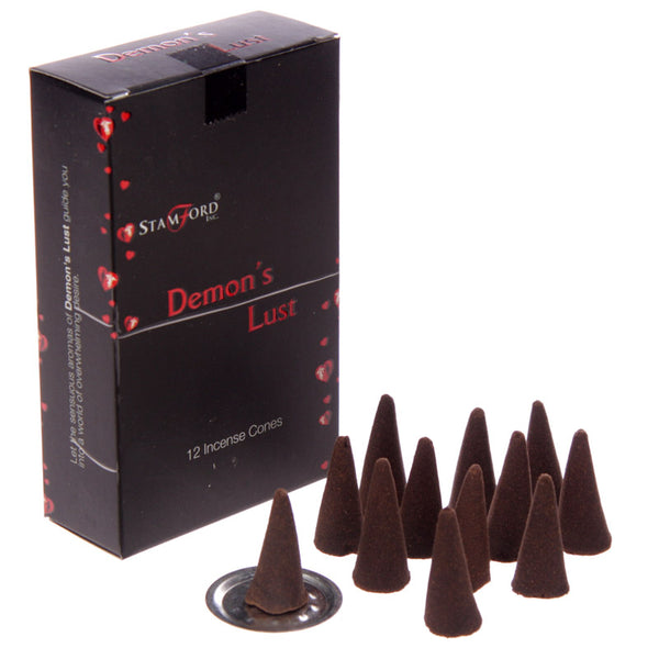 Stamford Black Incense Cones - Demon's Lust - MULTIBUY SAVER OPTIONS