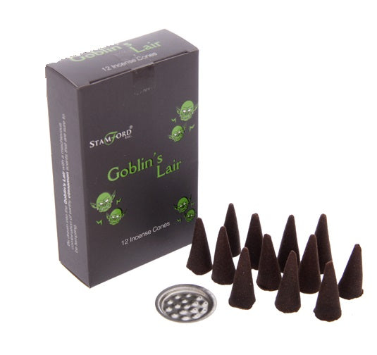 Stamford Black Incense Cones - MIXED LOT