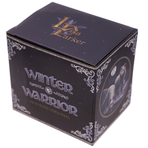 'Winter Warriors' White Wolf Mug