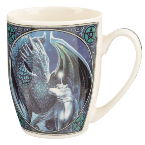 Lisa Parker 'Protector of Magick' Dragon & Unicorn Mug
