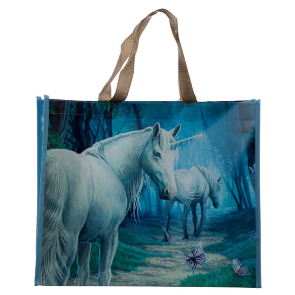 Lisa Parker 'The Journey Home' Large Unicorn Shopping Bag