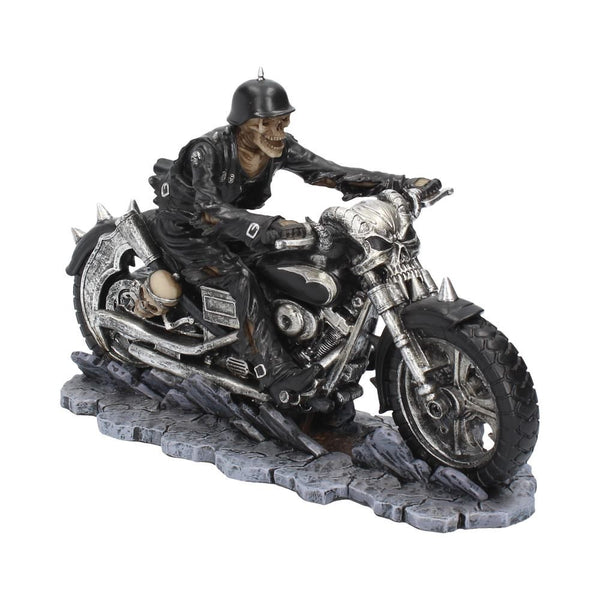 Hell on the Highway Skeleton Biker Figurine 20.5cm (James Ryman)
