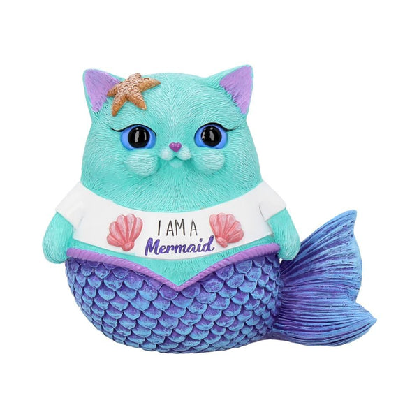 'I Am A Mermaid' Cat Ornament 8.5cm