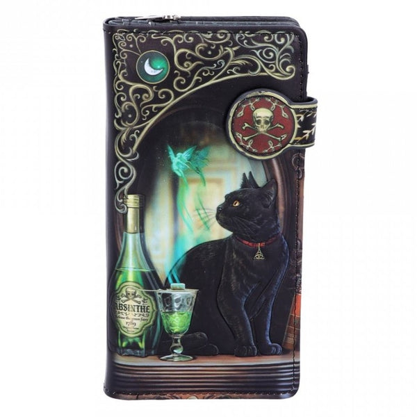 Absinthe Embossed Purse (LP)