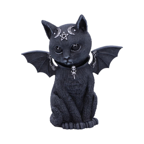 PRE ORDER 'Malpuss' Bat Cat Ornament 10cm