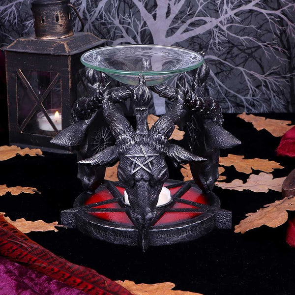 Baphomet Oil Burner