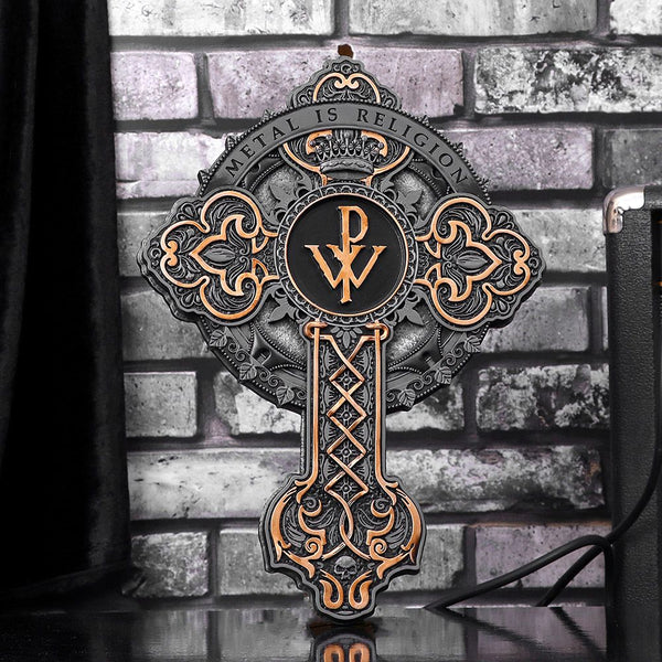 Powerwolf 'Metal is Religion' Wall Plaque  - PRE ORDER