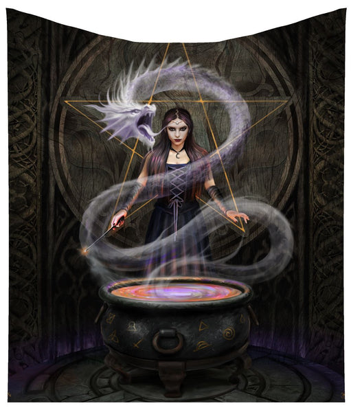 'The Summoning' Throw (Anne Stokes) - PRE ORDER