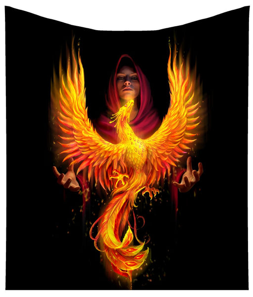 'Phoenix Rising' Throw (Anne Stokes) - PRE ORDER