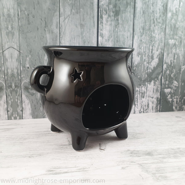 Black Cauldron Oil Burner - Black Magic Collection