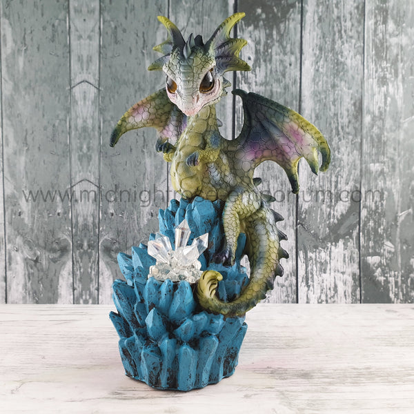 Baby Dragon Crystal Ice Figurine (A)