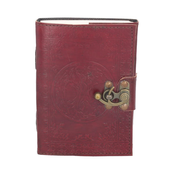 Tree of Life Leather Journal Small 18cm