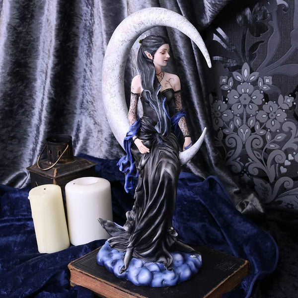 'Solace' Moon Fairy Figurine by Nene Thomas
