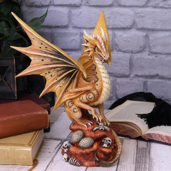 Anne Stokes Adult & Baby Desert Dragon Ornaments
