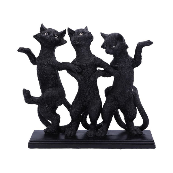 Purrfect Posture Black Cats Ornament