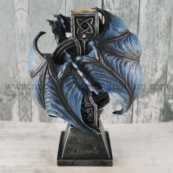 Draco Candela Dragon Candle Holder (AS) 18cm