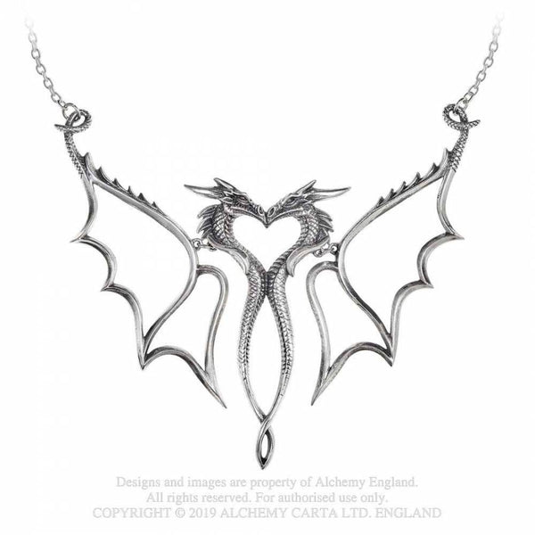 'Dragon Consort' Statement Necklace