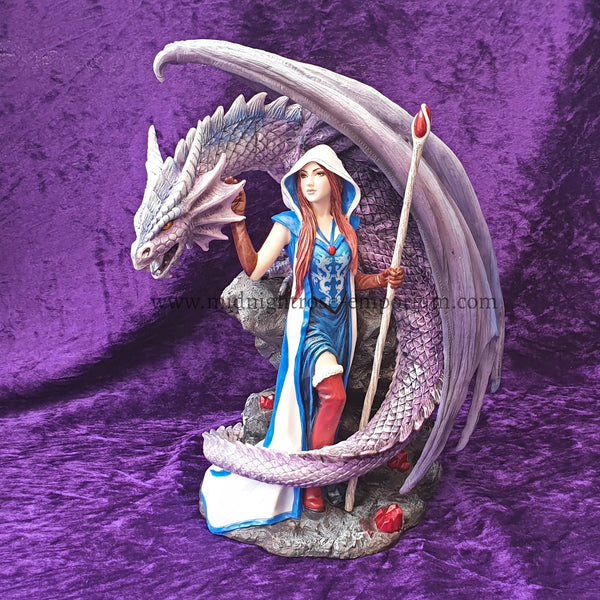 Anne Stokes Dragon Mage Ornament