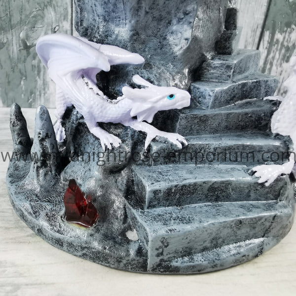 Anne Stokes Dragon Mage Snow Globe