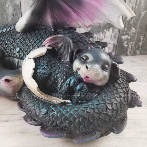 Dream a Little Dream Blue Dragon Figurine 20.3cm