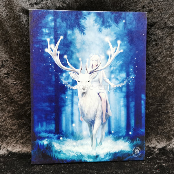 'Fantasy Forest' Canvas Plaque by Anne Stokes