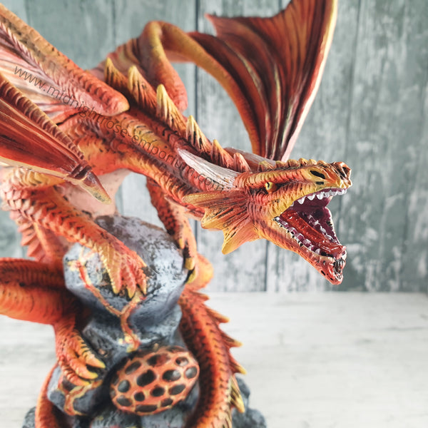 Anne Stokes Adult Fire Dragon Ornament