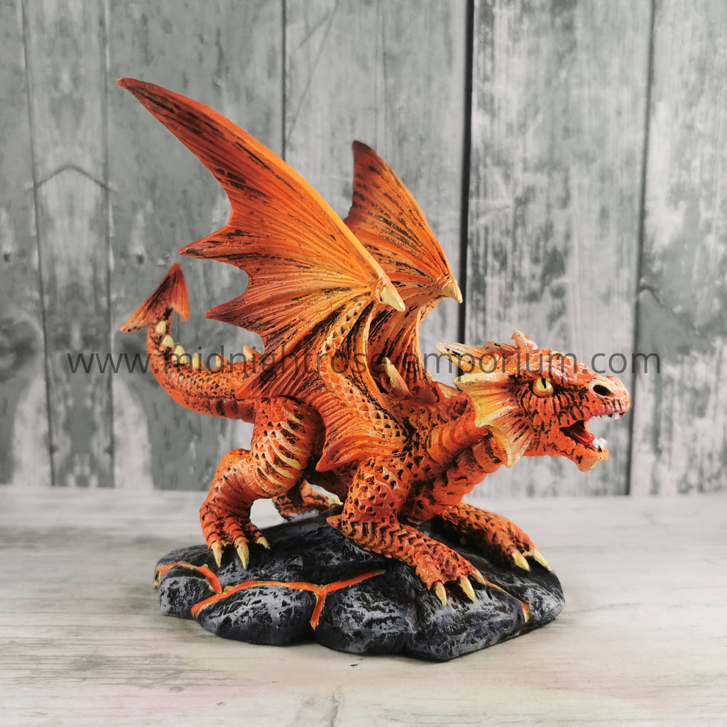 Anne Stokes Baby Fire Dragon Ornament