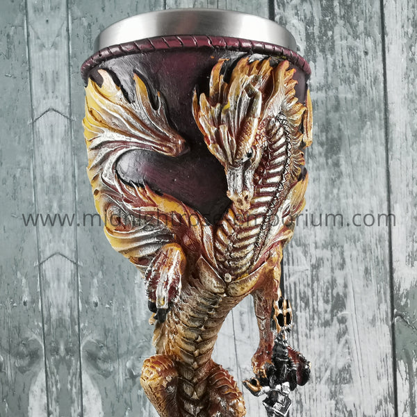 Flame Blade Dragon Goblet