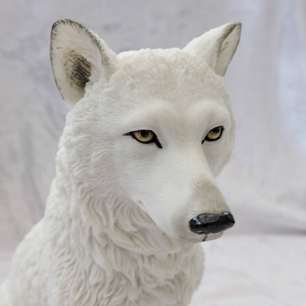 Ghost Wolf Ornament