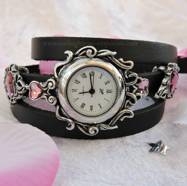 Heartfelt Wrap Around Bracelet Watch