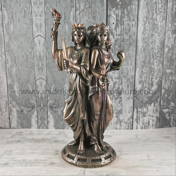 Hecate Goddess of Magic Statue 21cm