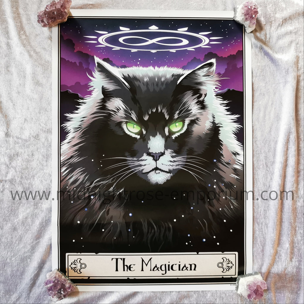 Deadly Tarot Felis 'The Magician' Mini Art Poster