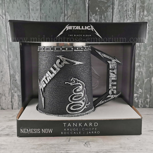 Metallica Black Album Tankard