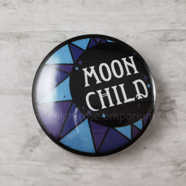 Moon Child Badge