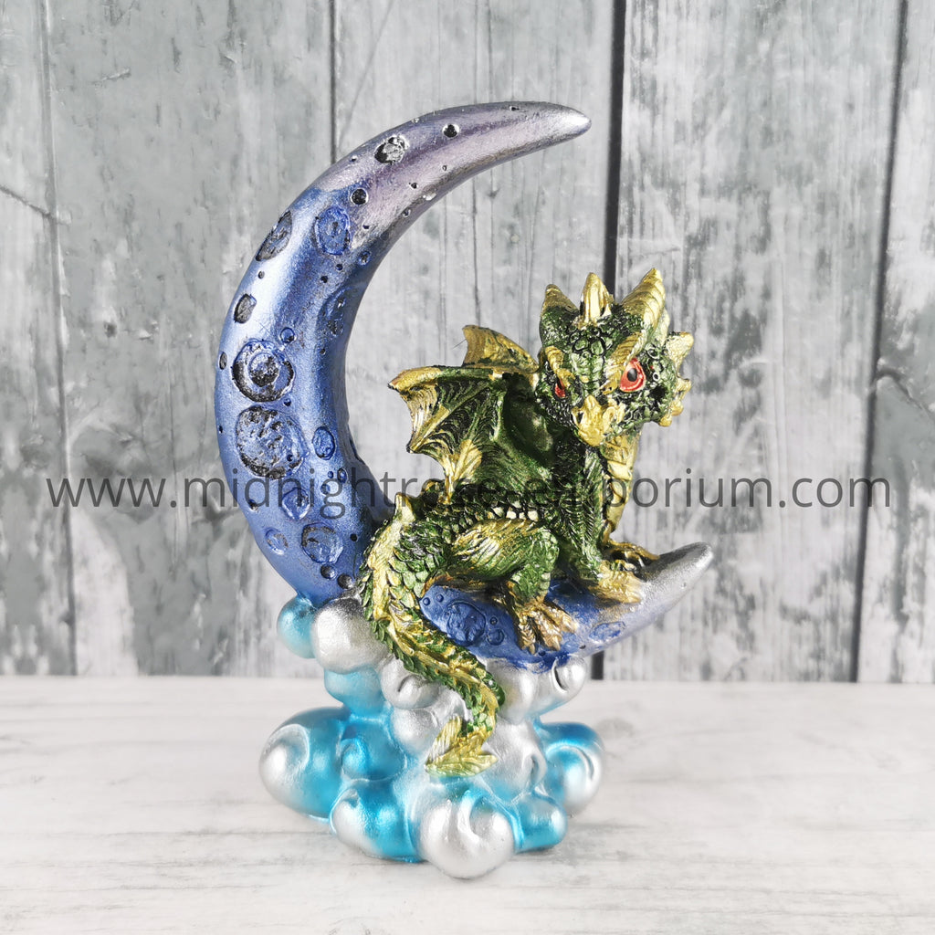 Moon Watcher Dragon - Green