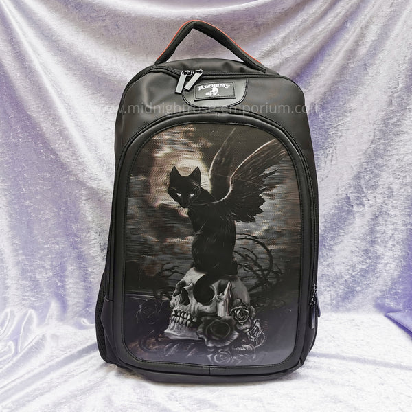 'Nine Lives of Poe' 3D Backpack - Alchemy Gothic