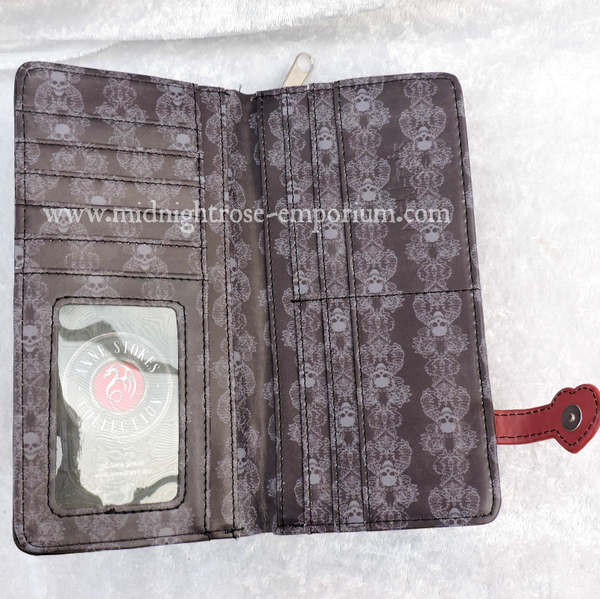 Only Love Remains Embossed Purse