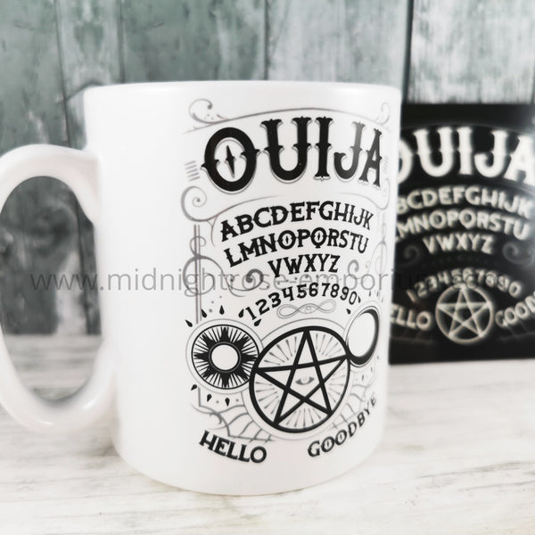 Ouija Board Ceramic Mug & Coaster Set