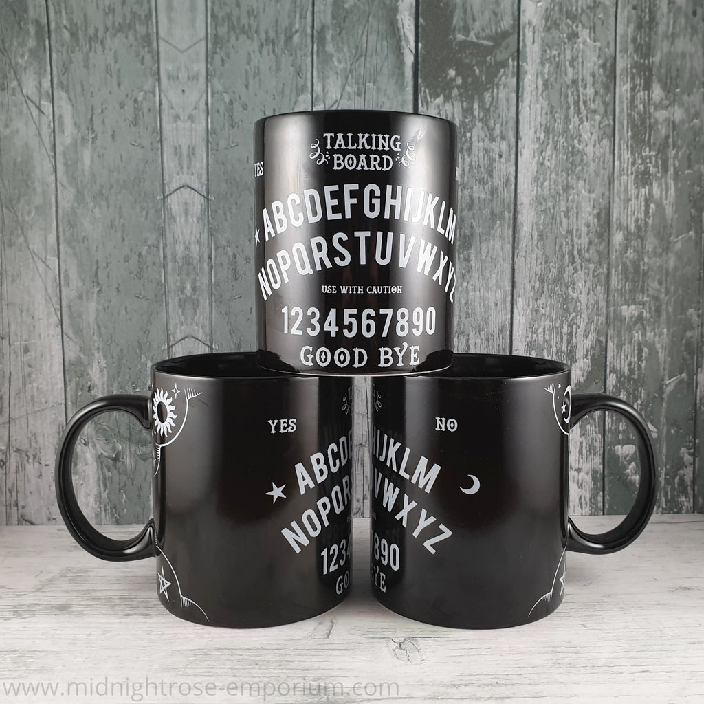 Ouija Board Mug - Black Magic Collection