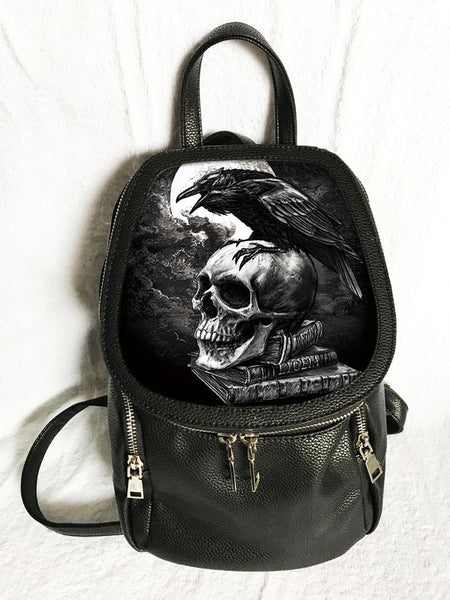 Alchemy Gothic 3D Lenticular Backpack 'Poe's Raven'