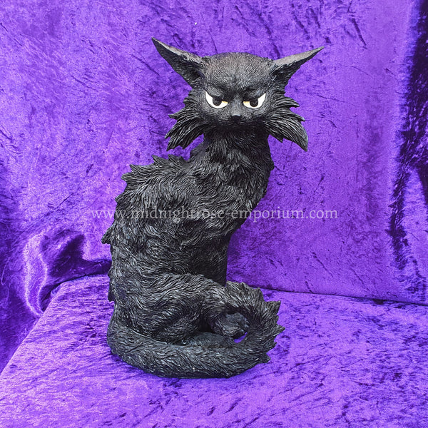 'Salem' Witches Familiar Black Cat Ornament 32.5cm