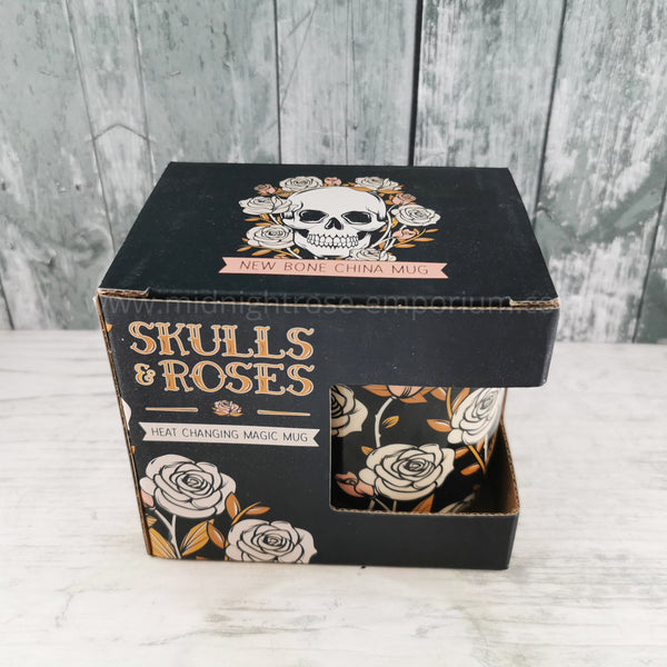 Skulls & Roses Heat Changing Mug