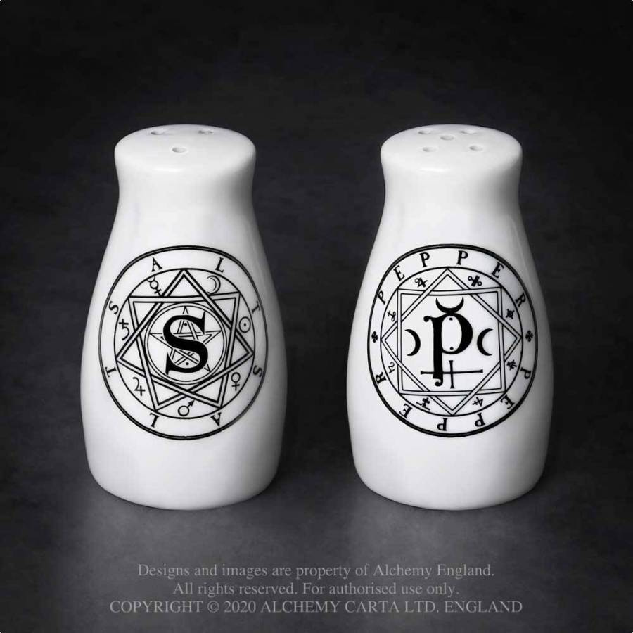 Witchcraft Sigil Salt & Pepper Set