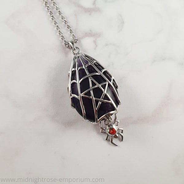 Anne Stokes 'Spyder Star' Necklace - Crystal Keepers Collection