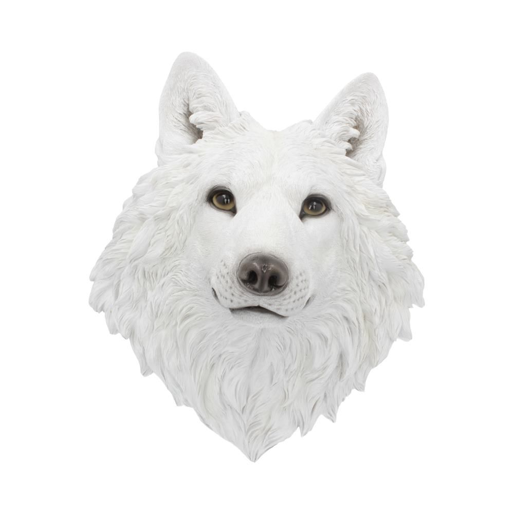 Snow Spirit White Wolf Wall Ornament 46.5cm