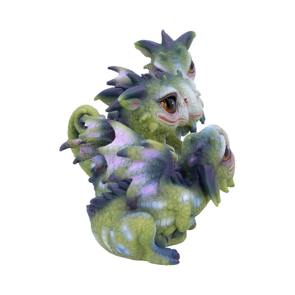 Curious Hatchling Dragon Figurines (Set of 4) 9cm