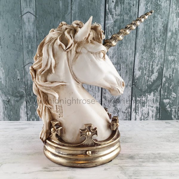 Alchemy Gothic Unicorn Ring Holder/Ornament