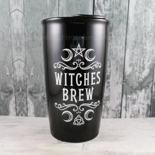 Witches Brew Double Walled Travel Mug