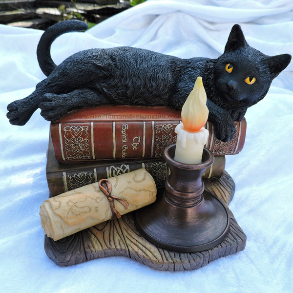The Witching Hour Black Cat Ornament - Lisa Parker
