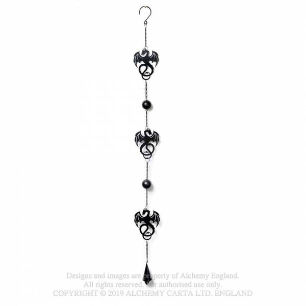 Alchemy Gothic 'Wyvrex Dragon' Hanging Decoration